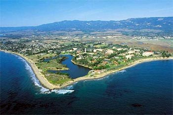 UCSB campus from the air